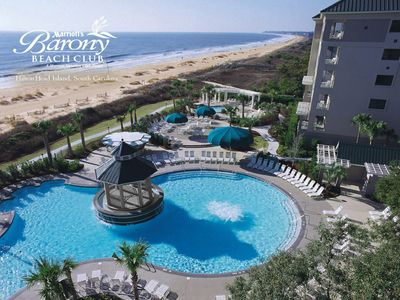 Photo for Marriott's Barony Beach Club, Garden View Unit, Available July 20-27, 2019