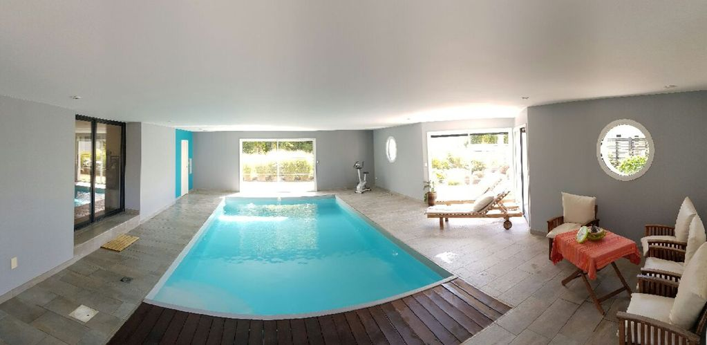 Amazing Property Image#9 Villa With Indoor Heated Swimming Pool, Near The Sea, In