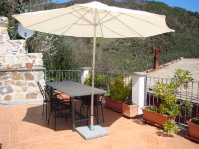Photo for House with character in Cinque Terre natural park with big terrasse