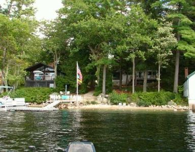 Photo for Beautiful Waterfront Chalet on Sebago Lake Nice Site