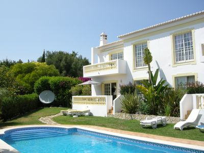 Photo for Beautiful 2 Bedroom Apartment With Large Pool In Private Garden And Sea Views