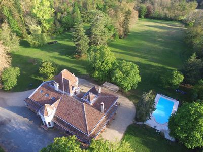 Photo for Bed and Breakfast with swimming pool in the heart of a park