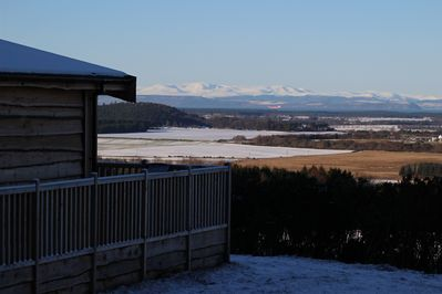 Ben Wyvis with stunning views over the Moray Firth, Caithness & Sutherland