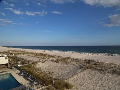 Awesome view from Southern Sands 305 balcony