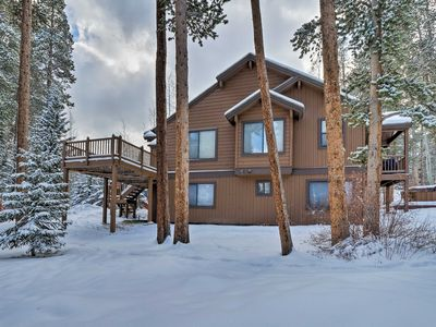 Photo for Retreat w/Hot Tub ~ 1 Mi to Slopes + Main St Breck