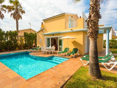 Photo for Villa Marta: Large Private Pool, Walk to Beach, A/C, WiFi, Car Not Required