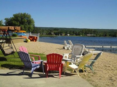 Photo for Waterfront Condo - Between Petoskey and Harbor Springs