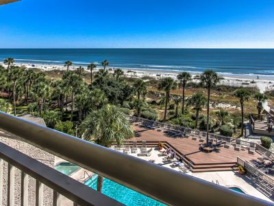Photo for 454 Captains Walk - Oceanfront 5th Floor - Its all about the View.