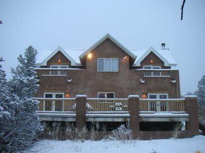 Photo for Large, Private Luxury Home -Ski Taos or Sled at House