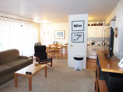Living Room, Dining Room and Kitchen