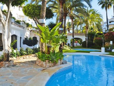Photo for Holiday flat, Elviria Marbella  in Um Málaga - 8 persons, 4 bedrooms