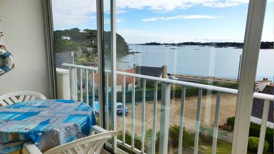 Photo for Apartment with breathtaking views of Baie Sainte-Anne for 2 to 4 people