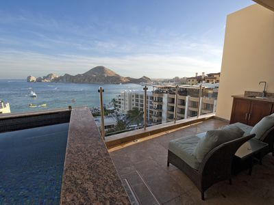 Photo for Luxury Bay View Suites 2BR/2BA on Medano Beach in the heart of Cabo