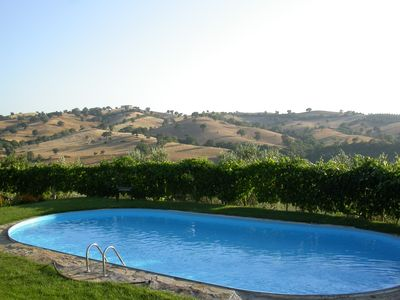 Perfect holiday location in the rolling hills.