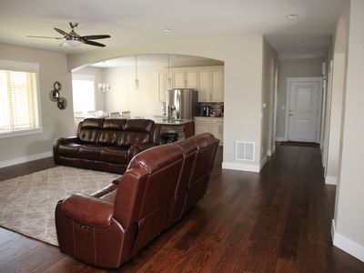 Photo for New Home 5 bed/5 bath+game room, sleeps up to 16 people, 10 mins to Denver
