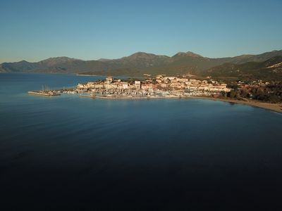 Photo for Superb Sea View Apartment 200 meters from the beach 200 meters from the village center