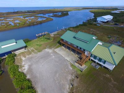 Photo for Oyster Reef is a secluded Waterfront 4 br w/ boat access & fishing pier