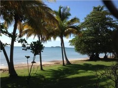 Photo for Relaxing Private Beach Villa, Playa Hucares
