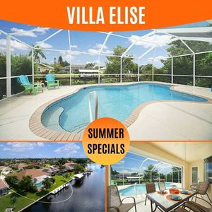 Photo for 34% OFF! SWFL Rentals - Villa Elise - Beautiful 4/2 Gulf Access Pool Home Sleeps 10