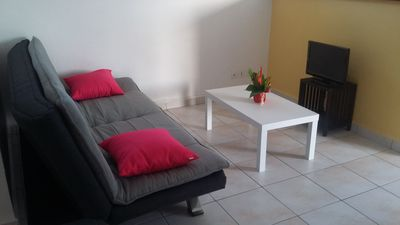 Photo for Fully furnished, air conditioned 2 km from beautiful beaches, marina, golf, town center