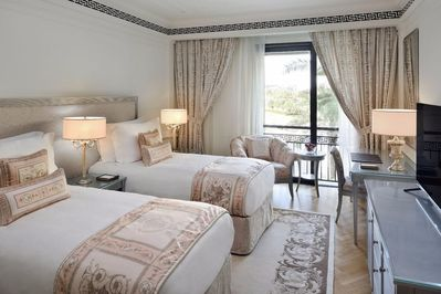 Two Bedroom Palazzo Versace City View_Residence Twin Bedroom
