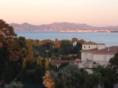 Photo for 2 rooms Cap d'Antibes sea view paronamique