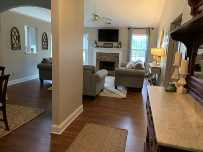 Photo for Quaint home 6.5 miles from UGA Stadium,  and 1 mile from downtown Watkinsville