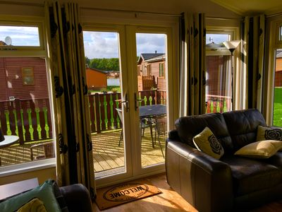 Photo for Diva Lodge Luxury Two Bedroom Holiday Lodge