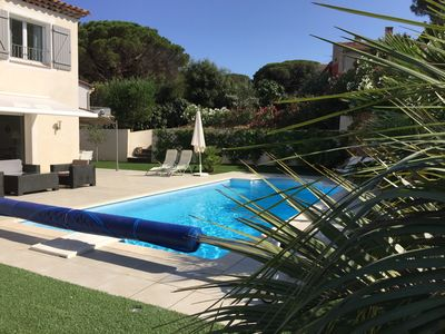 Photo for VILLA SAINTE MAXIME WITH SWIMMING POOL - SEA FOOT