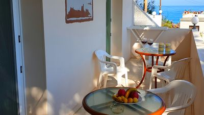 Photo for Two Bedrooms Apartment First floor 110 square meters, 50 meters near the sea