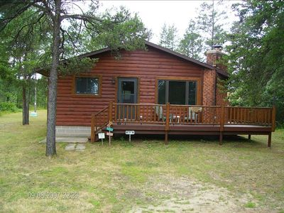 Photo for 2BR Cabin Vacation Rental in New Lisbon, Wisconsin