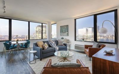 Photo for 34th Fl 2BR Apartment with Amazing NYC Views