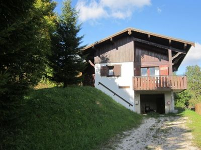 Photo for CHALET TO RENT LES GETS - 8 PERS - CHIMNEY - VERSANT MT CHERY - FULL SOUTH - FREE SHUTTLE SHUTTLE AT 100 m - WIFI