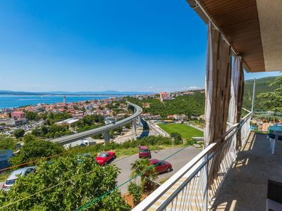 Photo for Holiday apartment Crikvenica for 2 - 6 persons with 2 bedrooms - Holiday apartment