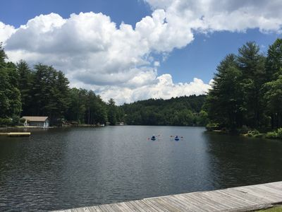Photo for Newly Renovated Private Lakefront Home On Flat Lot W/ Beautiful Views & Toys