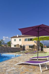 Photo for Villa with pool, near the sea, island of Krk, Croatia