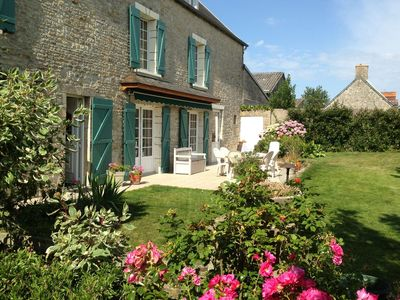 Photo for Beautiful holiday home near the historic city of Bayeux and Mont-Saint-Michel