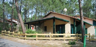 Photo for Charming house in Moliets, near the beach, in a quiet residence