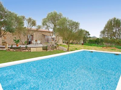 Photo for Wonderful natural stone finca with pool for relaxing holidays in Mallorca