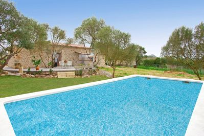 Finca Son Alcaines with Pool in Sineu