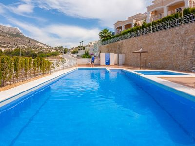 Photo for DORA, bungalow in Calpe with communal and children's pool