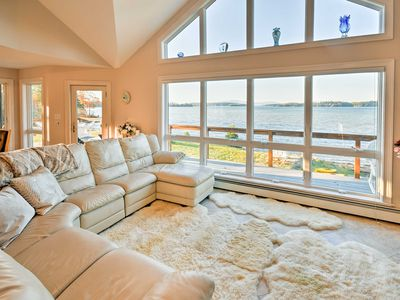 Photo for Luxurious Oceanfront Flanders Bay Home w/ Kayaks!
