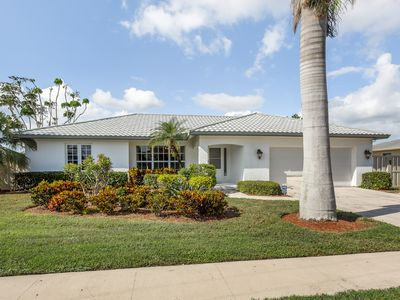 Photo for Canalfront home w/ private pool & boat dock - two miles to Tigertail Beach