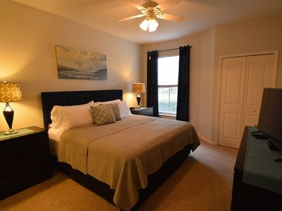 Photo for 2-104 lake view condo, swimming pool, clubhouse, game room, gym, tennis