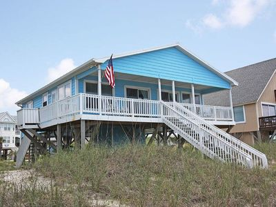 Photo for Mead Us At The Pier: 3 BR / 2 BA home in Oak Island, Sleeps 10