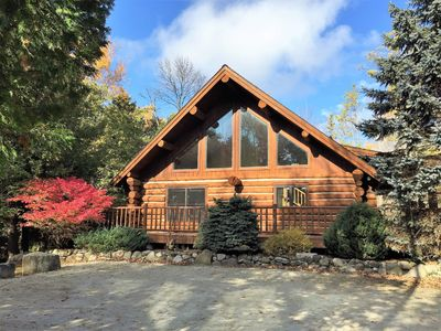 Photo for Relax In Our Nostalgic Log Home (3BR/2ba)