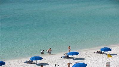Photo for On the beach , You Need a Vacation  at Emerald Towers West      OCEANFRONT