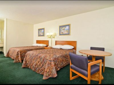 Photo for Americas Best Value Inn Wilson - 2 Double Beds Non-Smoking ( GROUND FLOOR)