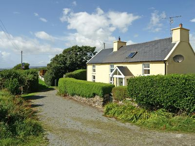 Photo for Traditional detached cottage, facing south, on quiet country road on Wild Atlantic Way and enj…