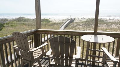 Photo for Oceanfront 2BR/2 Bath Second Floor Condo with Pool and Oceanfront Deck